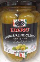 Prunes Reine-Claude Entières du Sud-Ouest au Sirop - Product - fr