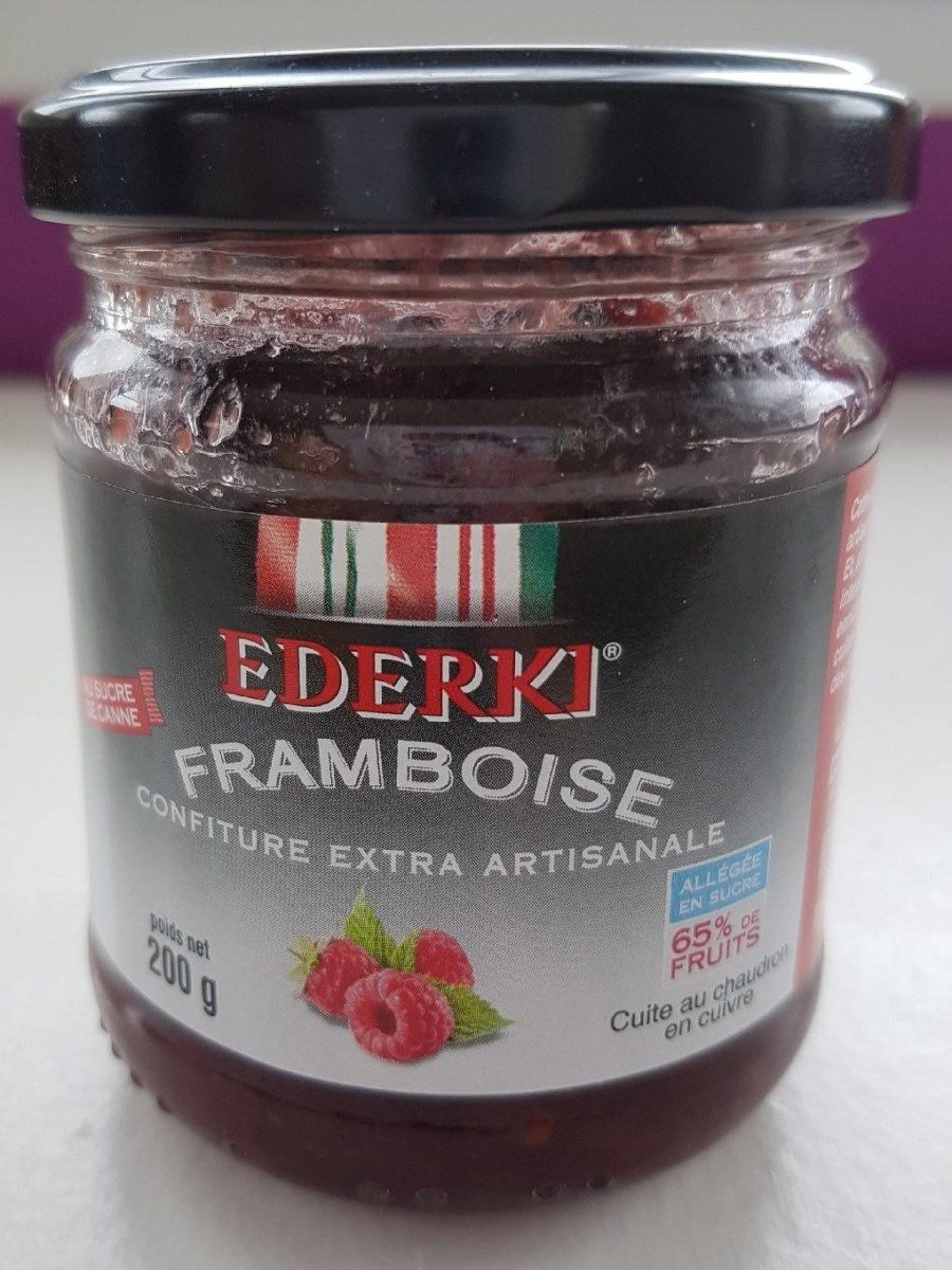 Confiture de framboise - Product