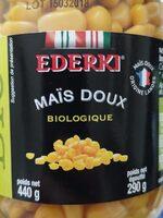 Maïs doux biologique - Produit