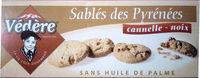 Sablés des Pyrénées cannelle-noix - Produit - fr