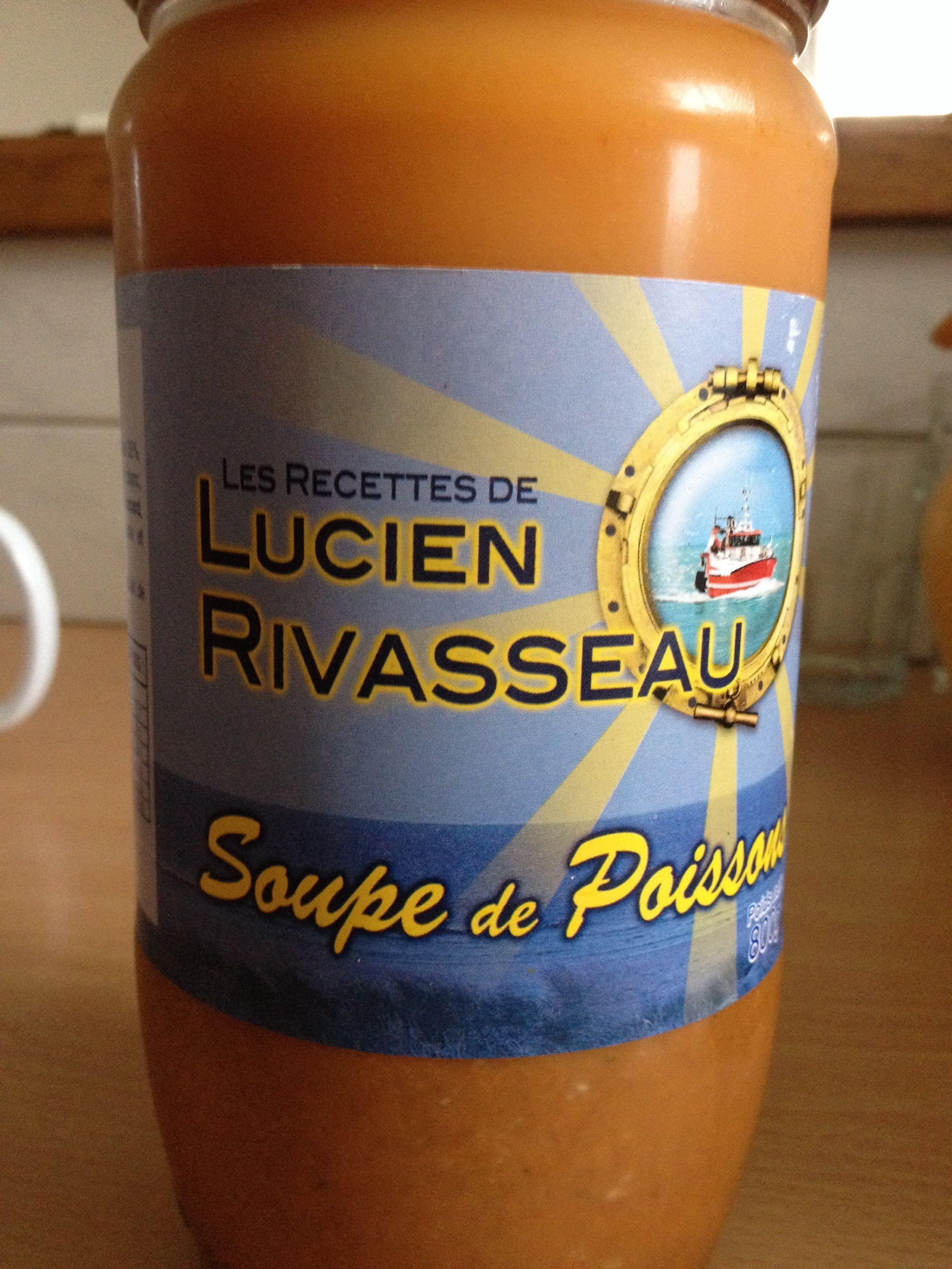 Soupe de Poisson - Les recettes de Lucien Rivasseau - Produit