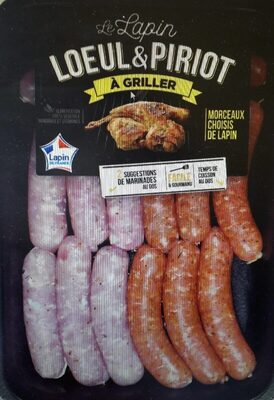 Saucisses de lapin - Product