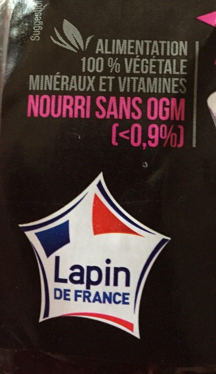 Rables de lapin découpés - Ingrediënten - fr
