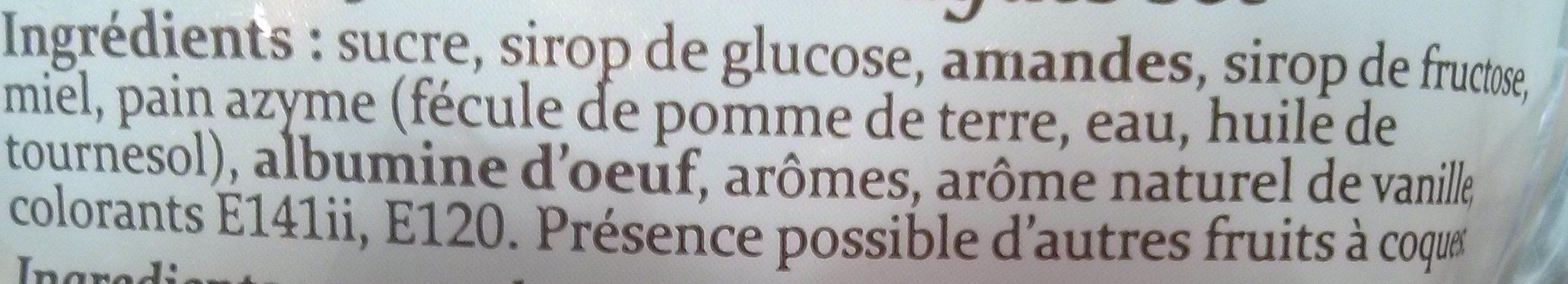 Nougat - Ingrediënten - fr