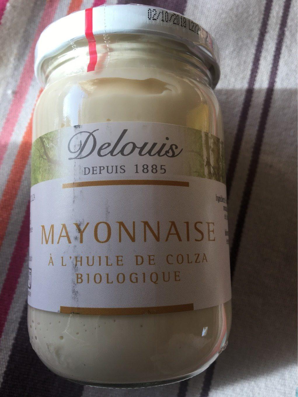 Mayonnaise Huile Colza - Produit - fr