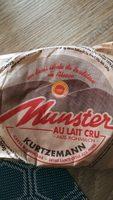 Munster au lait cru - Product - fr