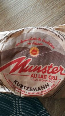 Munster au lait cru - Product