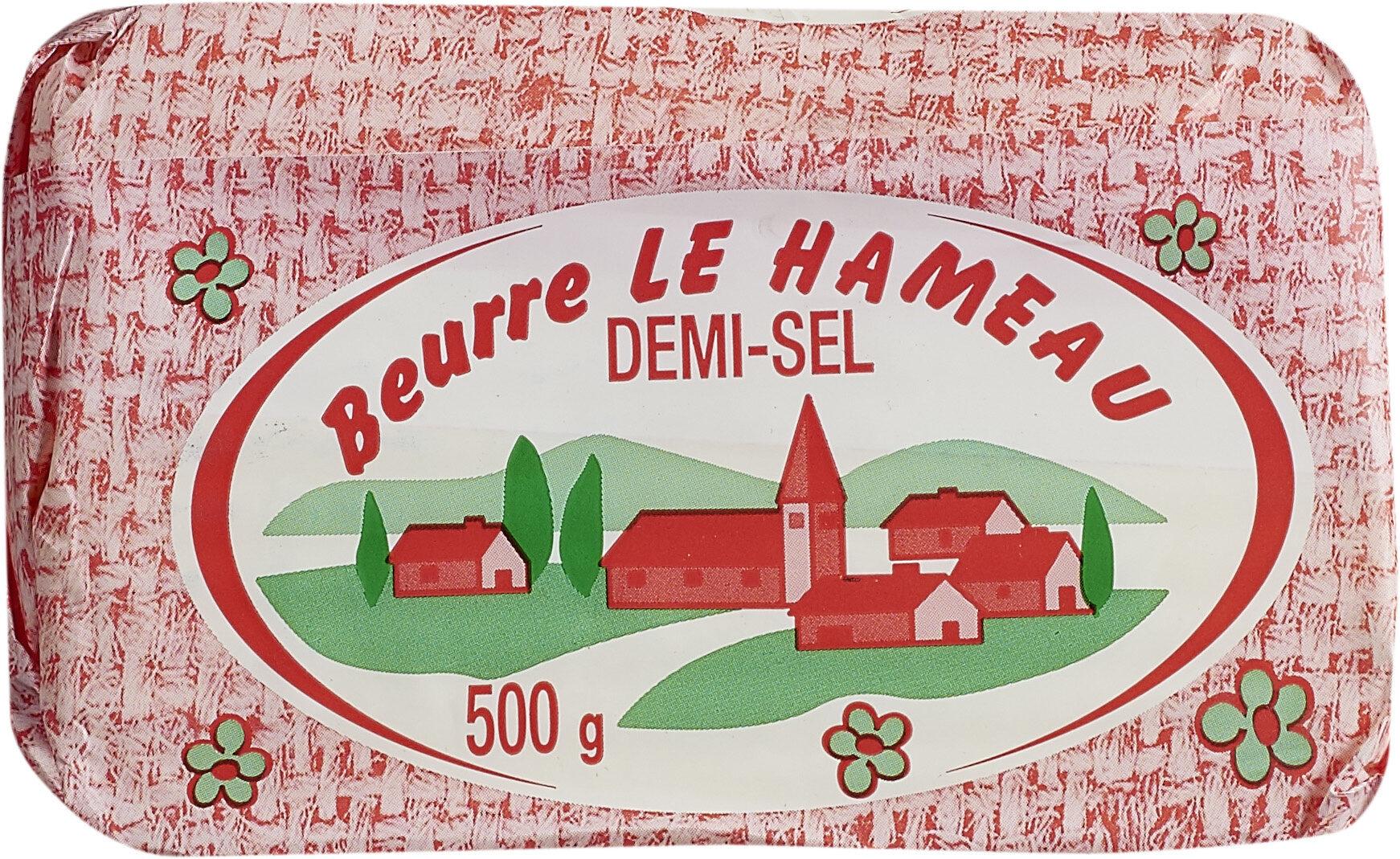 Beurre Le Hameau demi-sel - Produit - fr
