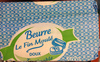 Beurre Le Fin Moulé doux - Produit