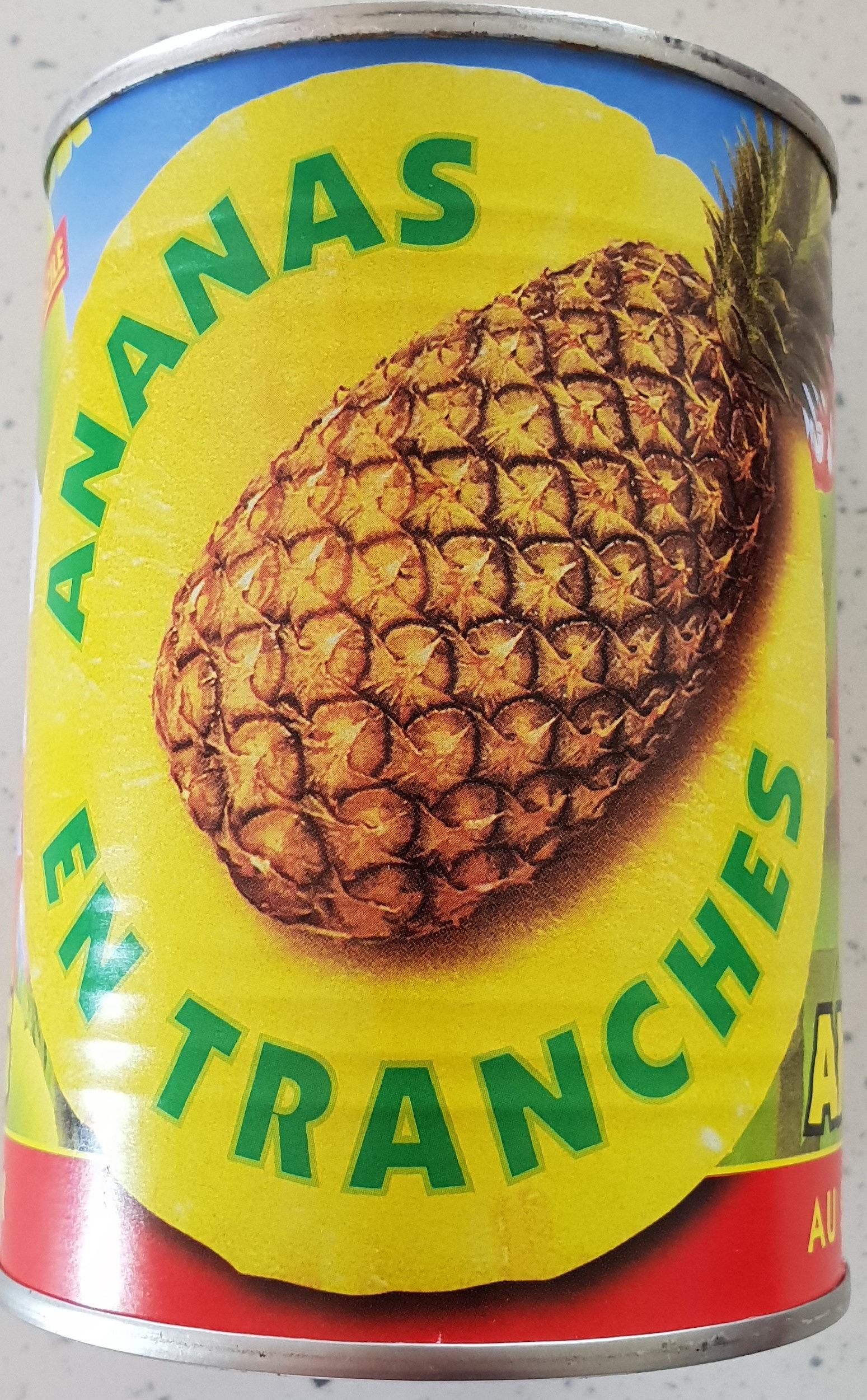 Ananas Conserve Mont Pelé - Product - fr
