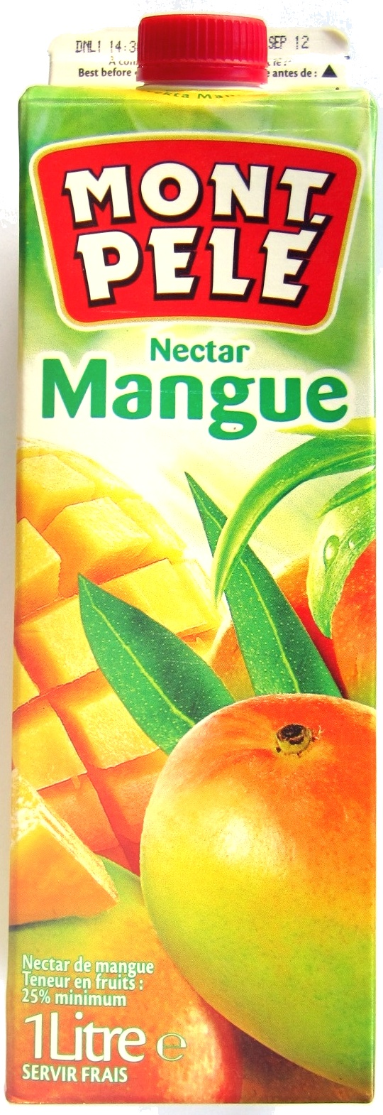 Nectar mangue - Product - fr