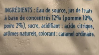 Refresh - Ingrédients - fr