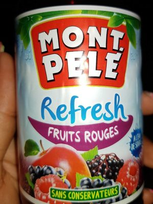 Mont pelé refresh fruit rouge - Produit