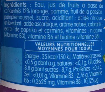 MONT PELE KIDS - Ingrediënten