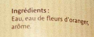 Arôme fleurs d'oranger - Ingredients - fr