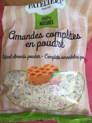 Amandes bio en poudre complete LA PATELIERE - Product - fr