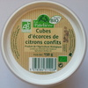 Cube d'écorces de citrons confits - Product