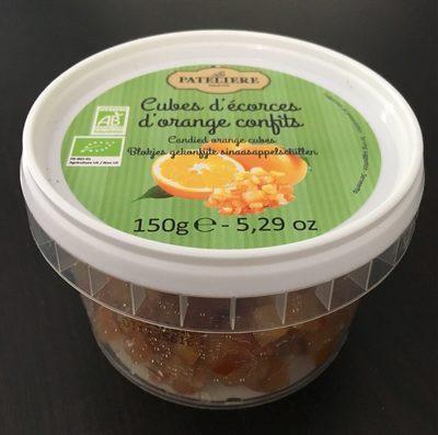 Cubes d'Écorces d'Oranges Confits - Product