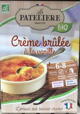 Crème brûlée a la vanille - Produit - fr