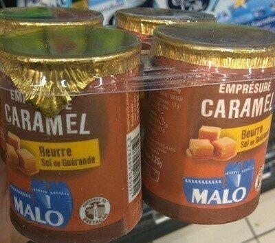 Emprésuré Caramel Beurre Sel de Guérande - Produit - fr