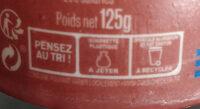Emprésuré Caramel Beurre Sel de Guérande - Instruction de recyclage et/ou informations d'emballage - fr