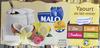 Yaourt au lait entier (coco, vanille, framboise, citron) - Product