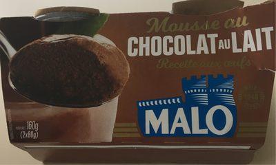 MOUSSE CHOCOLAT AU LAIT - Product