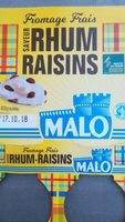 Fromage Frais saveur Rhum Raisins - Produit - fr