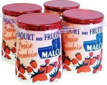 Yaourts Aux Fruits Malo, Fraise / Framboise - Prodotto - fr