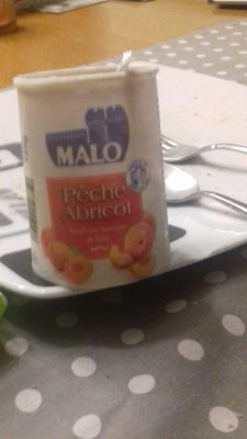 Malo Yaourt Peche Abricot - Produit - fr