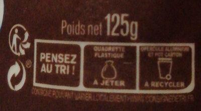L'Emprésuré Chocolat - Instruction de recyclage et/ou information d'emballage - fr