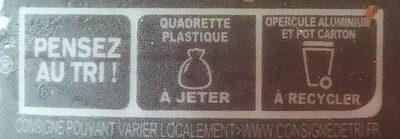 L'Emprésuré saveur Café - Recycling instructions and/or packaging information - fr