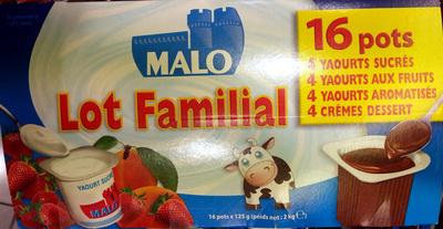 Lot familial - Produit