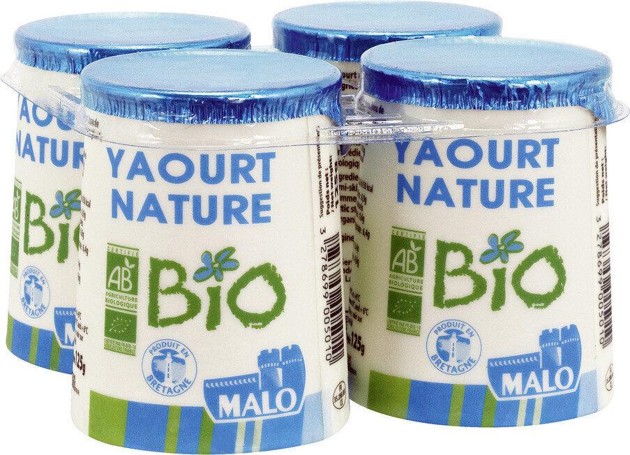 Yaourt nature bio - Produit - fr