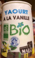 Yaourt à la vanille bio - Product - fr