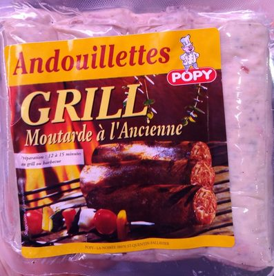 Andouillettes Grill Moutarde à l'Ancienne - Product