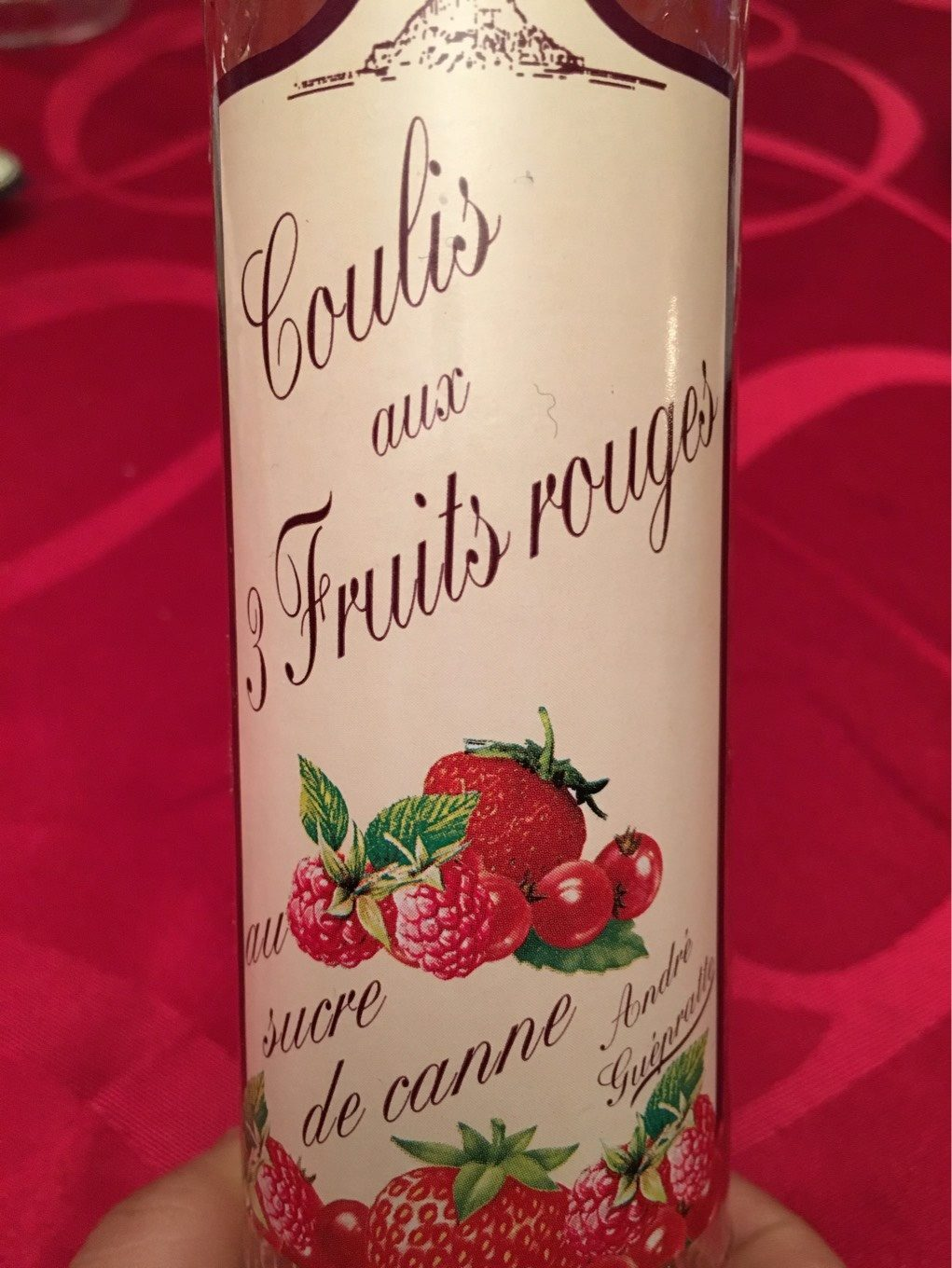 160G Coulis Fruits Rouges Guepratte - Product