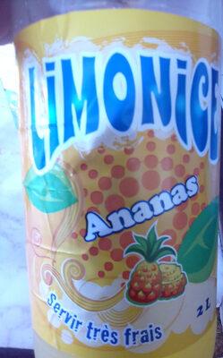 Limonade ananas 2 litres - Produit