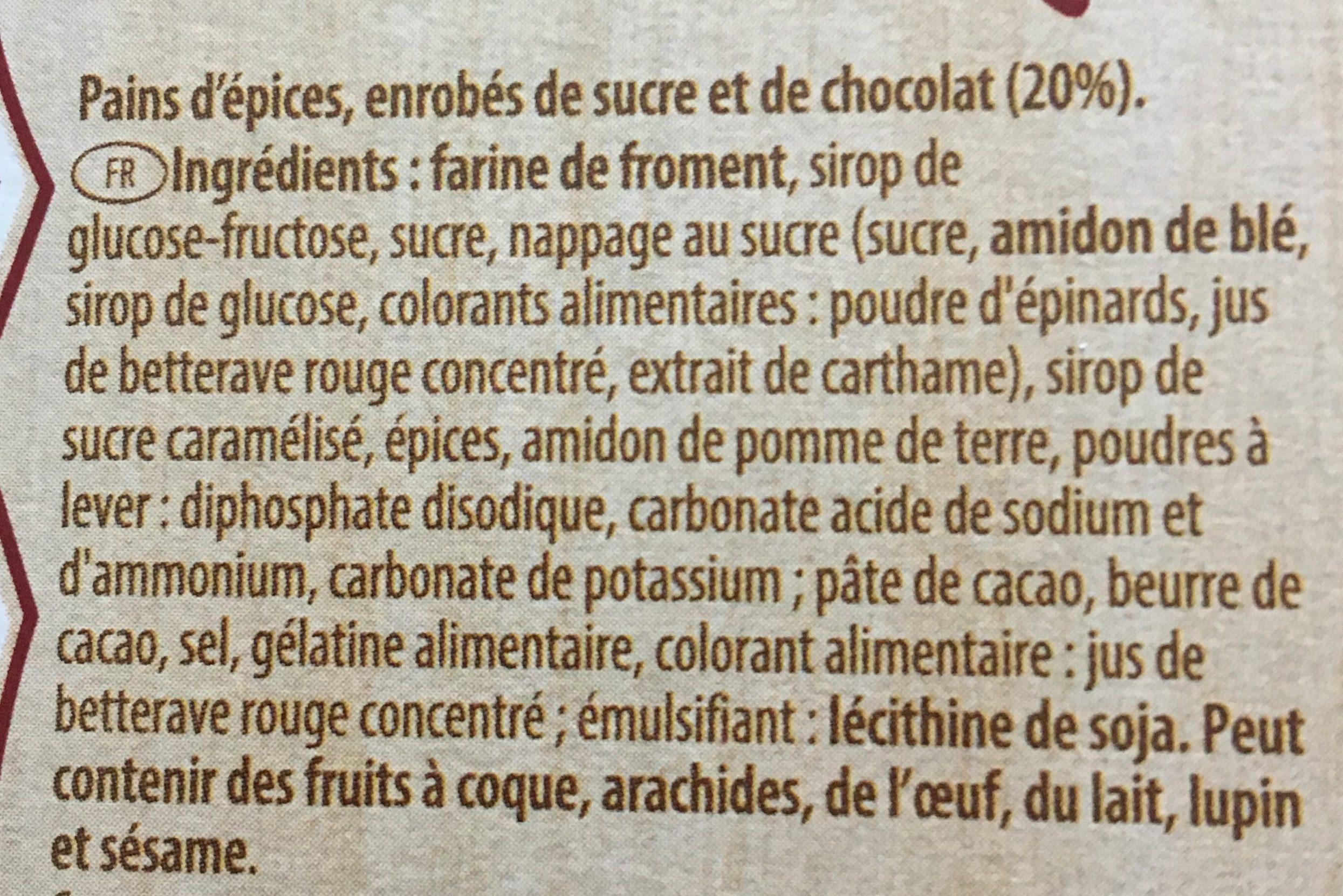 Délicieux mélange de pains d'épices - Ingrediënten - fr