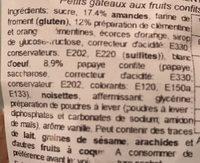 Petits florentins - Ingrédients - fr