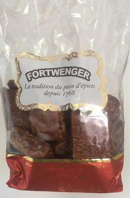 Pain d'épices glacé. (enrobés de sucre glace cacaoté) - Product