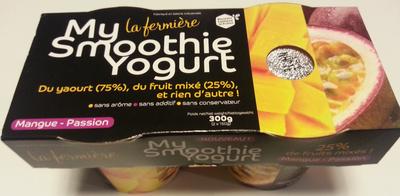 My Smoothie Yogurt, Mangue-Passion - Product - fr