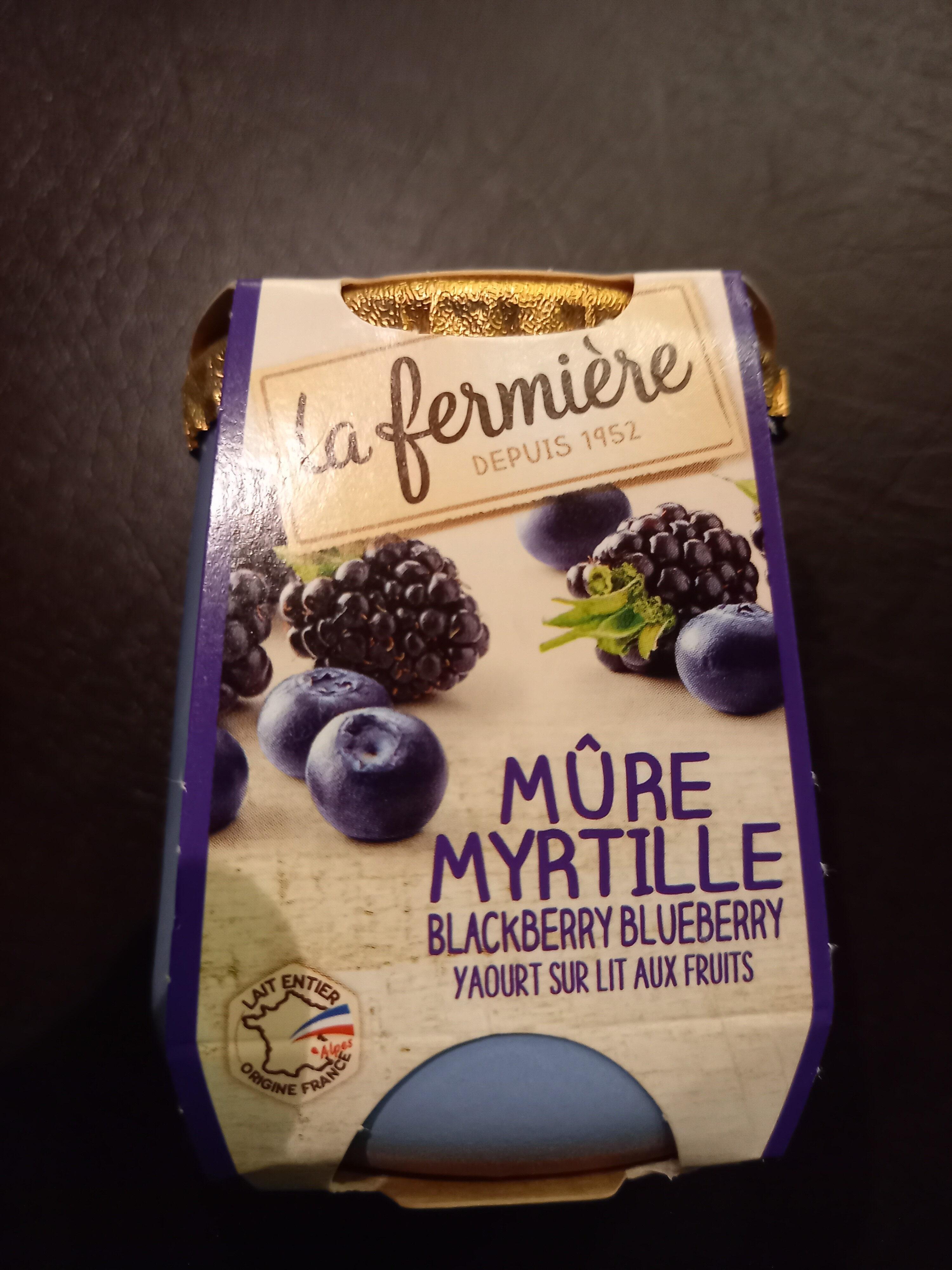 140G Yaoury Bicouche Mure / Myrtille La Fermiere - Product - en