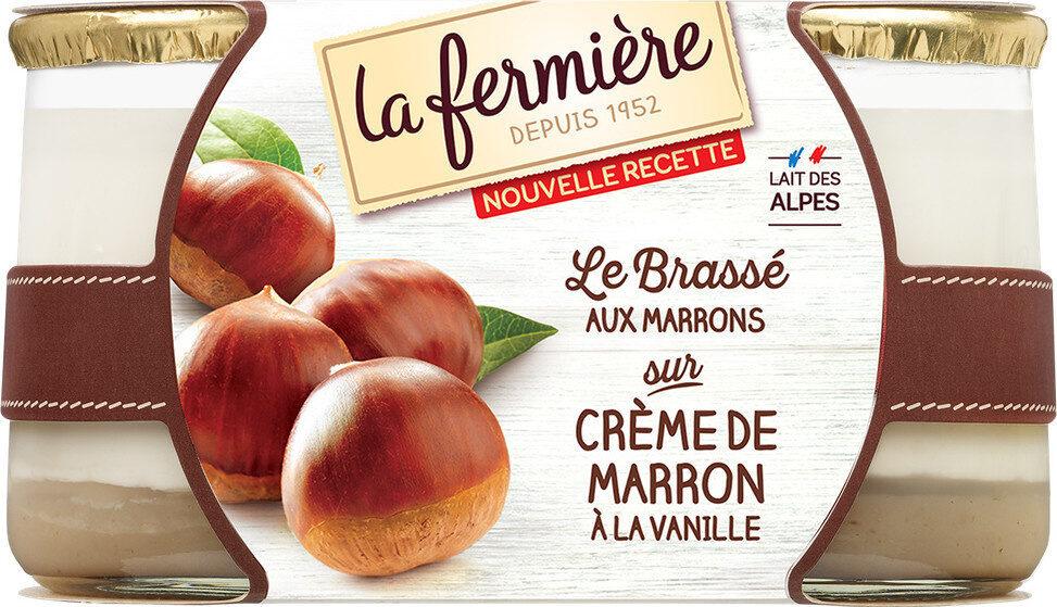 Yaourt bicouche MARRON - Prodotto - fr