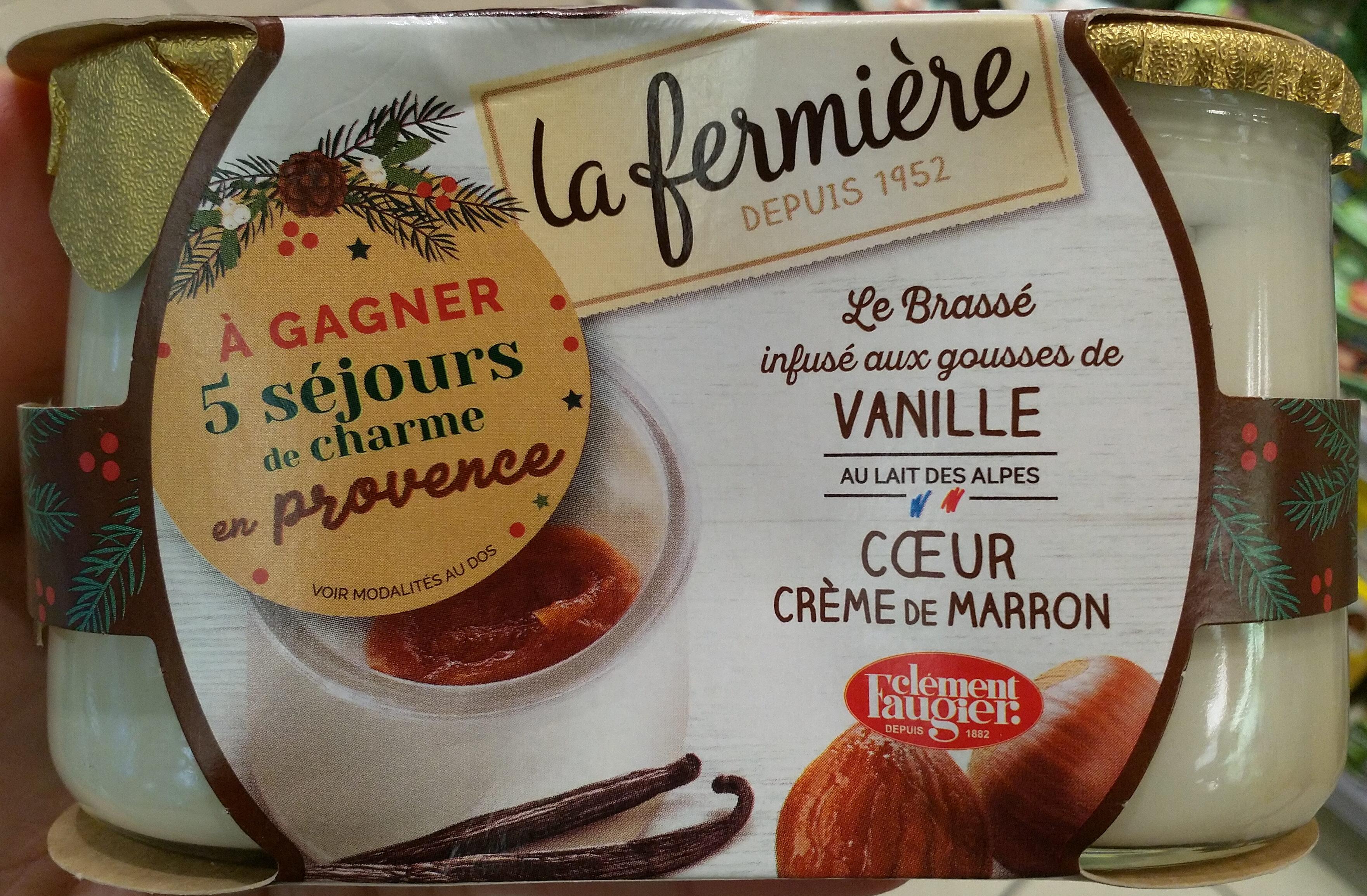 Le yaourt aux fruits, marron - Produit - fr