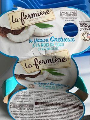 Le Yaourt Onctueux à la Noix de Coco - Product
