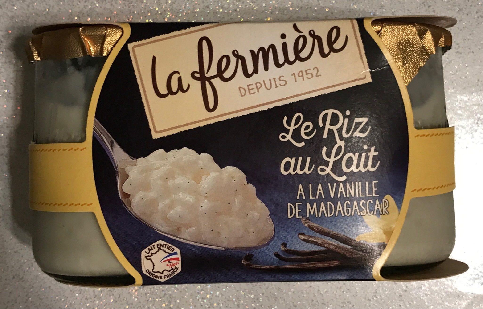 Le Riz au Lait à la Vanille de Madagascar - Product - fr