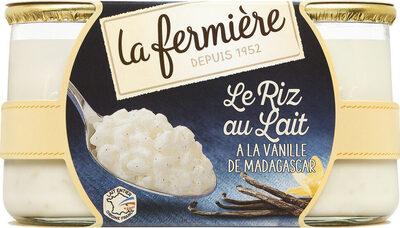 Riz au Lait Vanille - Produit - fr
