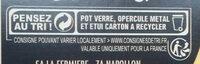 Riz au Lait Vanille - Instruction de recyclage et/ou informations d'emballage - fr