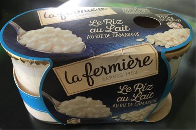 Le Riz au Lait au riz de Camargue - Produit - fr